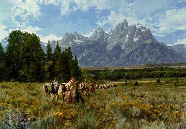 Paul calle In The Valley Of The Great Tetons