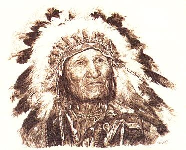 Paul Calle Son Of Sitting Bull