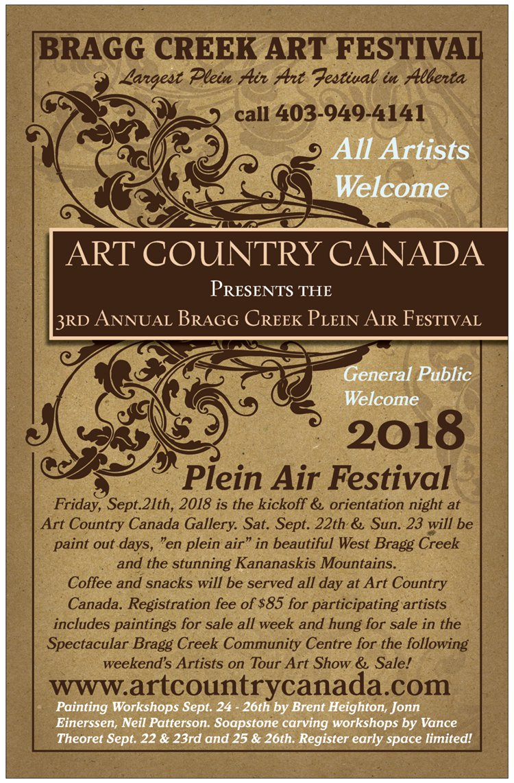 Art country canada plein air art festival