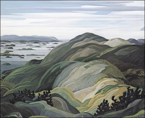 Franklin Carmichael Bay Of Islands