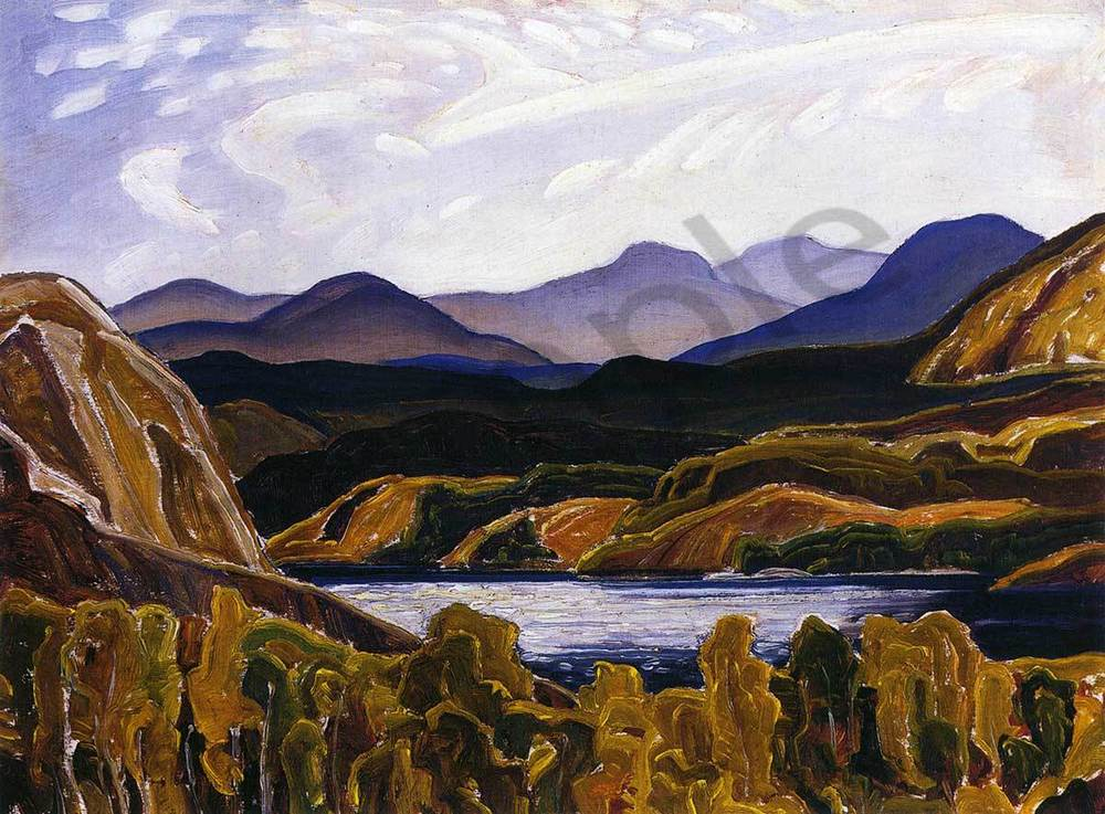 Franklin Carmichael La Cloche Mountain and Lake