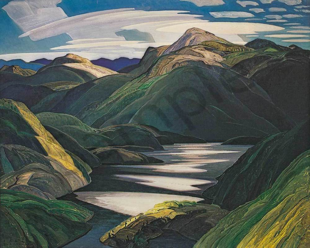 Franklin Carmichael Light and Shadow