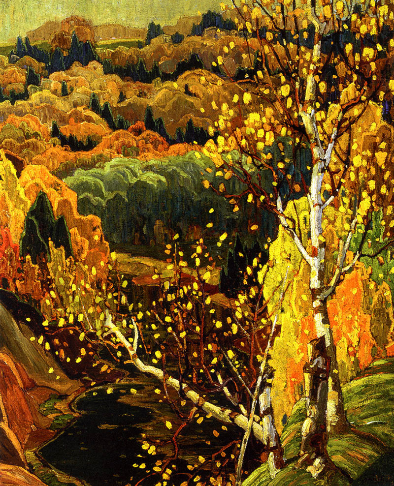 Franklin Carmichael October Gold
