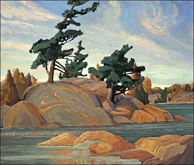 Franklin Carmichael Islands Georgian Bay