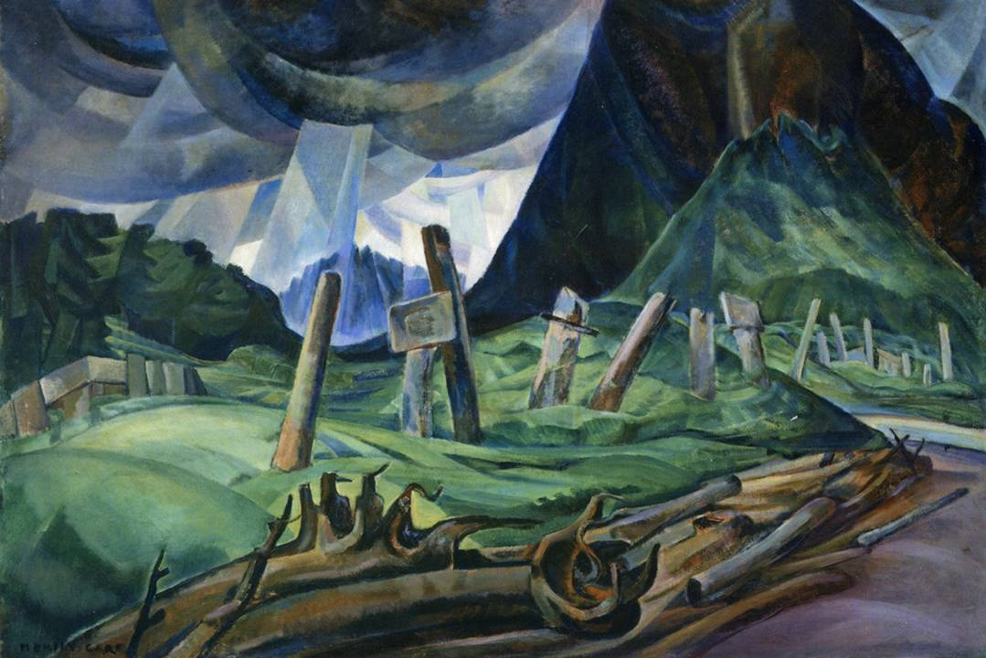 Emily Carr Vanquished