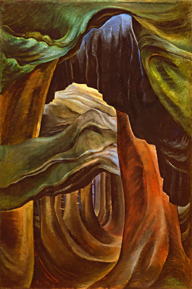 Emily Carr Forest British Columbia 1932
