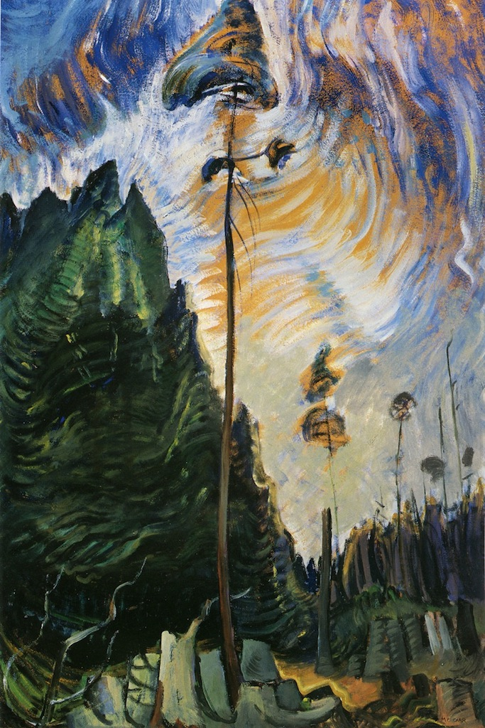 Emily Carr Edge of the Forest
