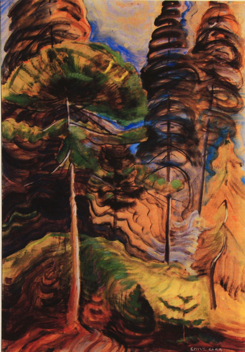 Emily Carr Forest Landscape
