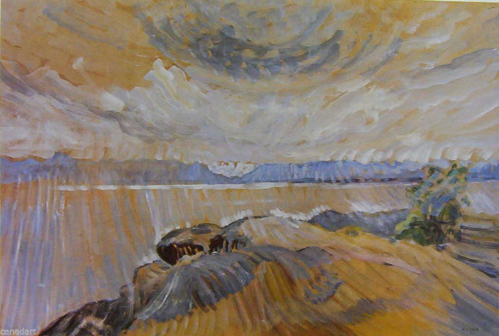 Emily Carr Sea and Sky