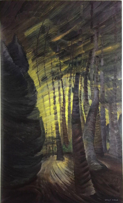 Emily Carr Sombreness Sunlit