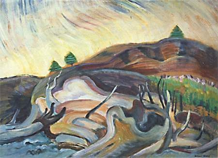 Emily Carr Flung Beyond The Water