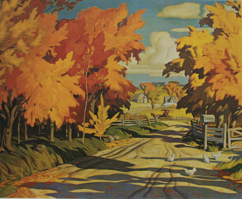 A.J. Casson Country Road