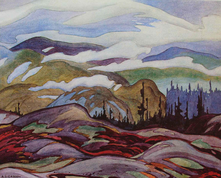 A. J. Casson Fog Clearing