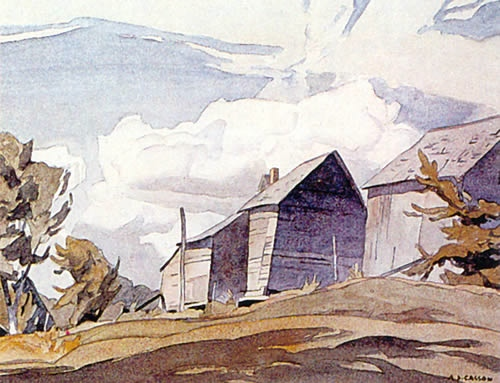 A.J. Casson Barn On The York River