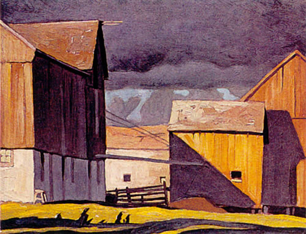 A. J. Casson Barns at Twelve Mile Lake