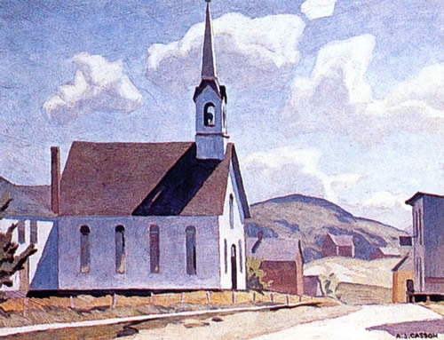 A.J. Casson Church of St. Lawrence of O'Toole
