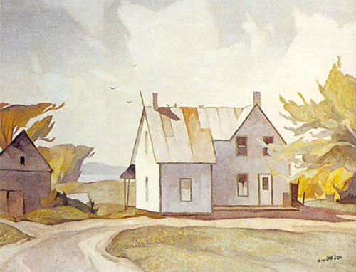 A.J. Casson Farm House