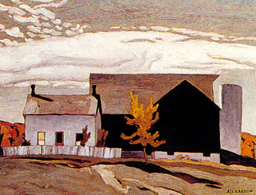 A. J. Casson Farm Near Vandorf