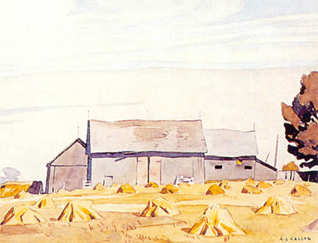 A. J. Casson Harvest Time