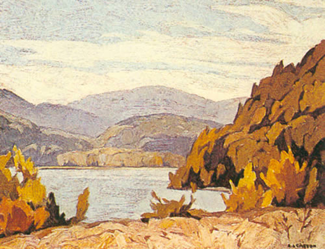 A. J. Casson Lake Baptiste