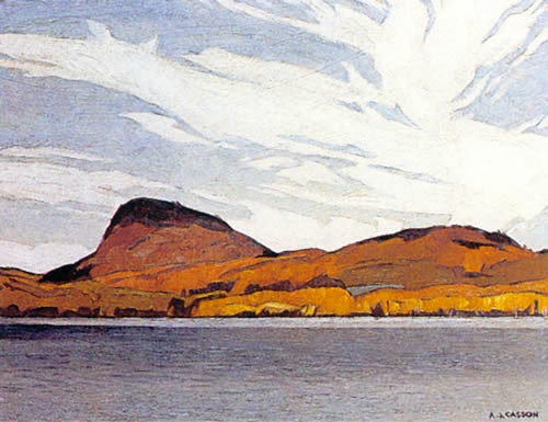 A.J. Casson Lake Willoughby
