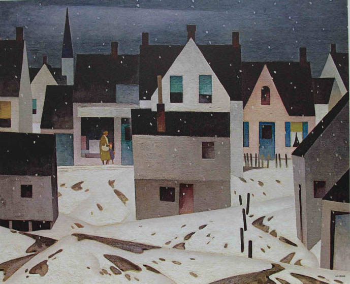 A. J. Casson Late Flurry 1946