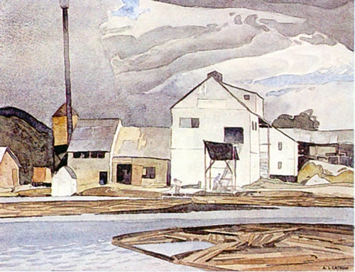 A.J. Casson Lumber Mill