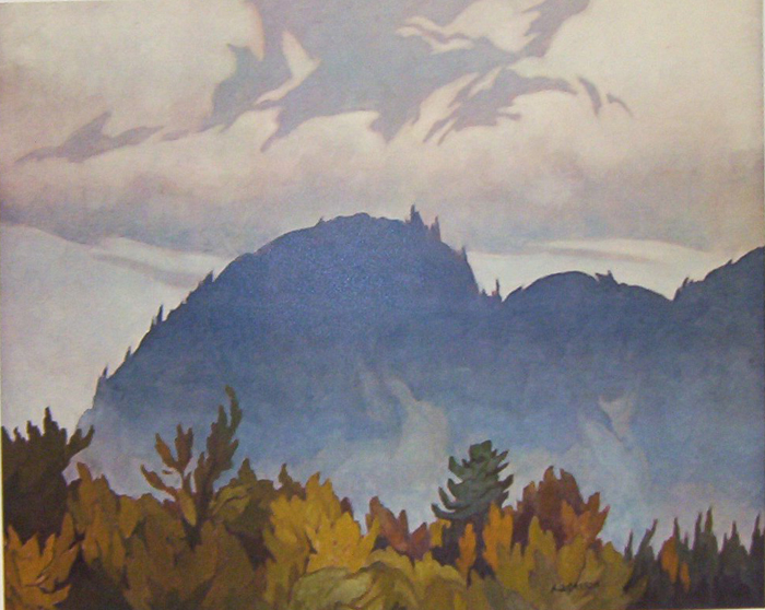 A. J. Casson Morning Mist