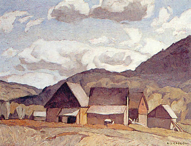 A. J. Casson Near Quadville