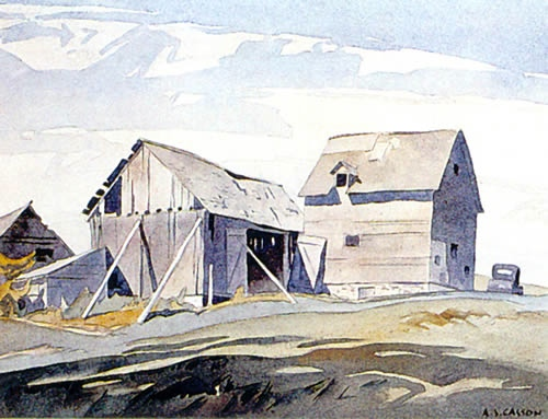 A.J. Casson Northern Barns