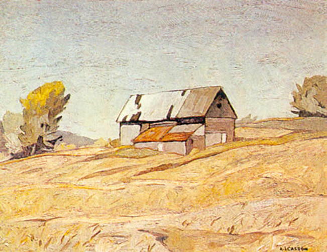 A. J. Casson Old Barn