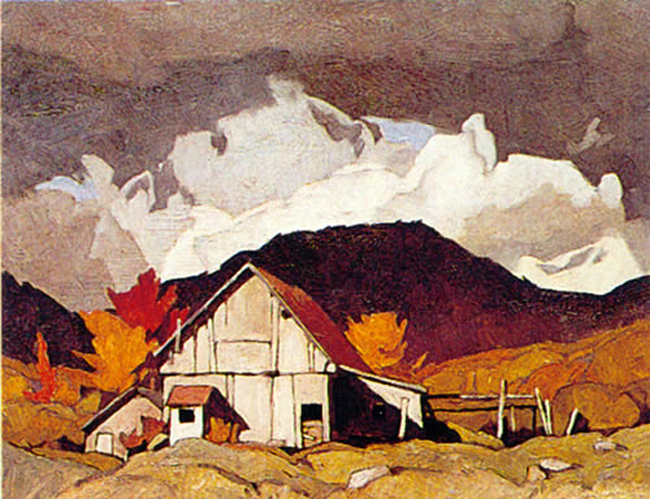 A.J. Casson Old Barn