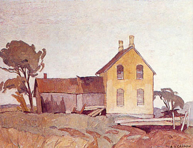 A. J. Casson Old Farmhouse