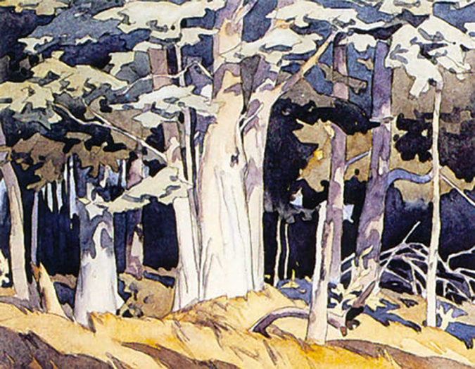 A. J. Casson Old Maple