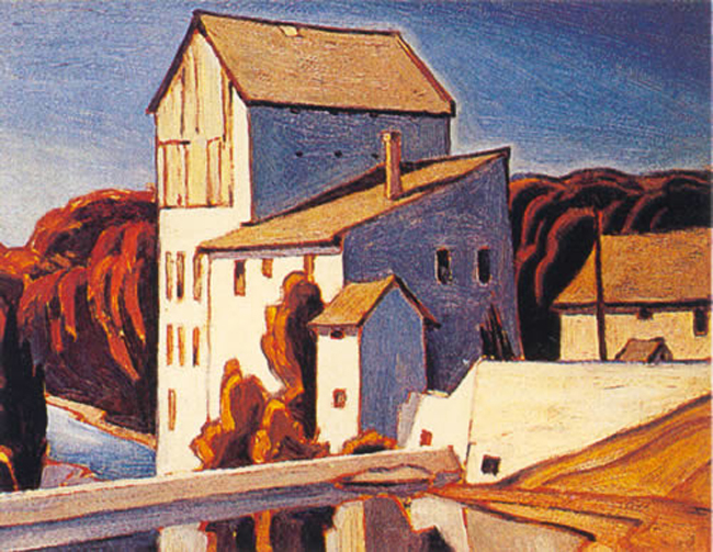 A. J. Casson Old Mill Elora