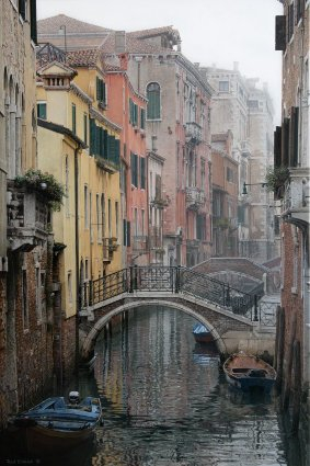 Rod Chase The Mists Of Morning Venice canal