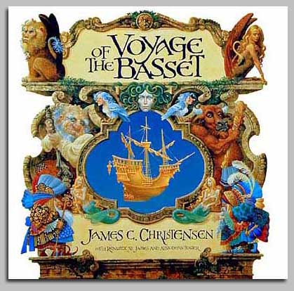 James Christensen Voyage Of The Basset Book