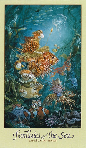 James Christensen Fantasies of the Sea eat
