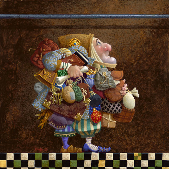 James Christensen Hold To The Rod