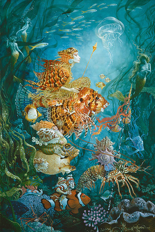 James Christensen Fantasies of the Sea