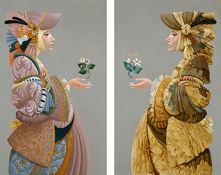 James Christensen Two Sisters