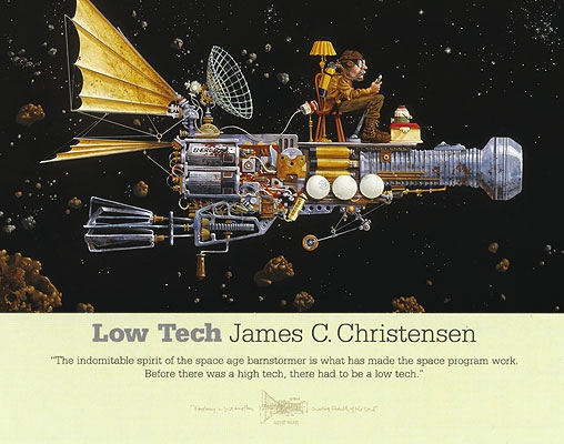 James Christensen Low Tech