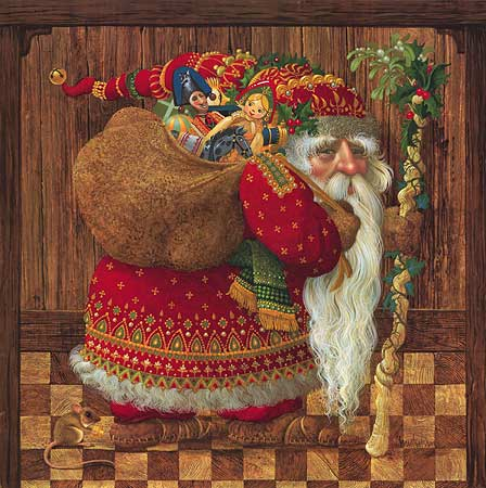 James Christensen Olde World Santa