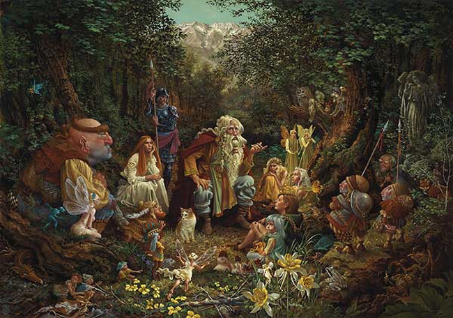 James Christensen Once Upon A Time