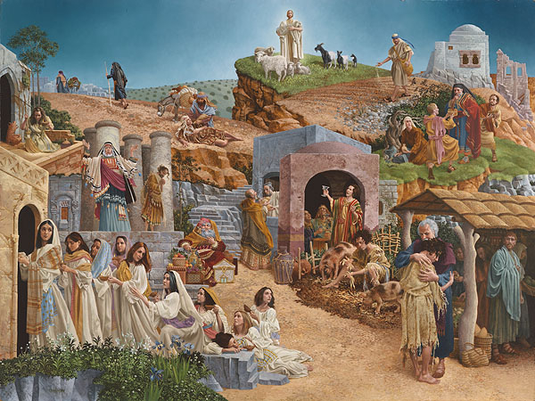 James Christensen Parables