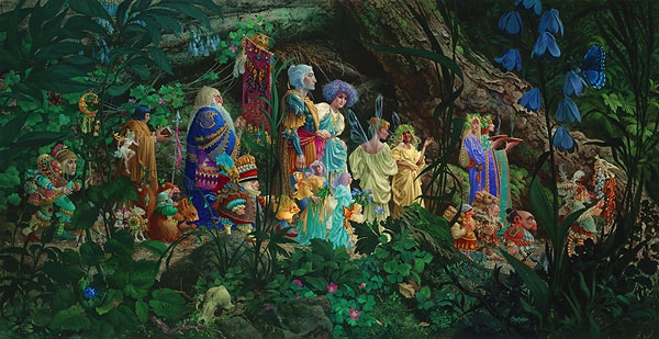 James Christensen The Royal Processional