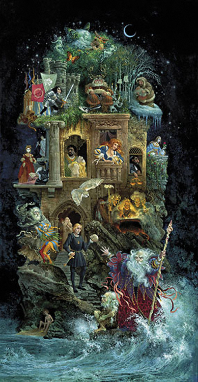 James Christensen Shakespearean Fantasy