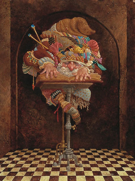James Christensen The Scholar
