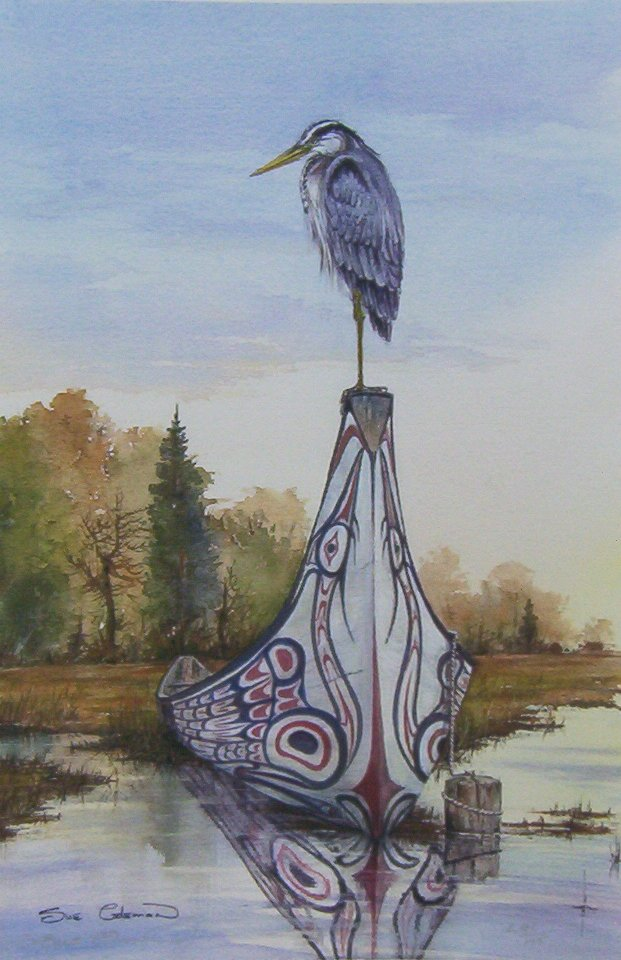Sue Coleman Blue Heron
