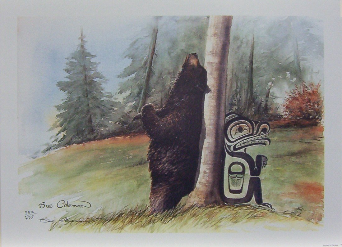 Sue Coleman Relief Black Bear